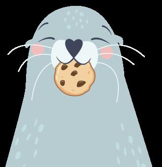 Auch Robben brauchen Cookies...